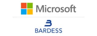 Customer 360 on Microsoft Azure, powered by Bardess Zero2Hero logo